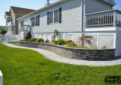 EP Henry Retainer Wall + New Landscaping